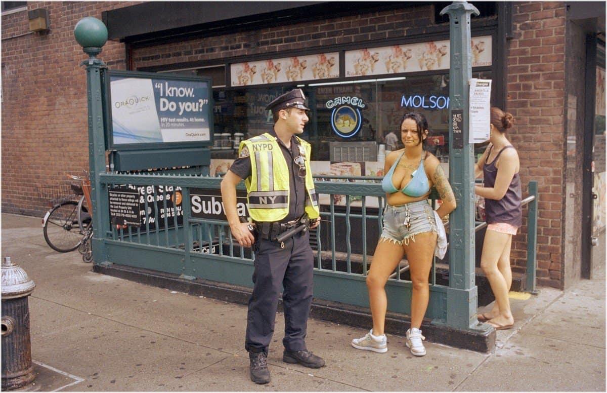 Фото Нью-Йорка таксиста на протяжении 40 лет (27 фото)