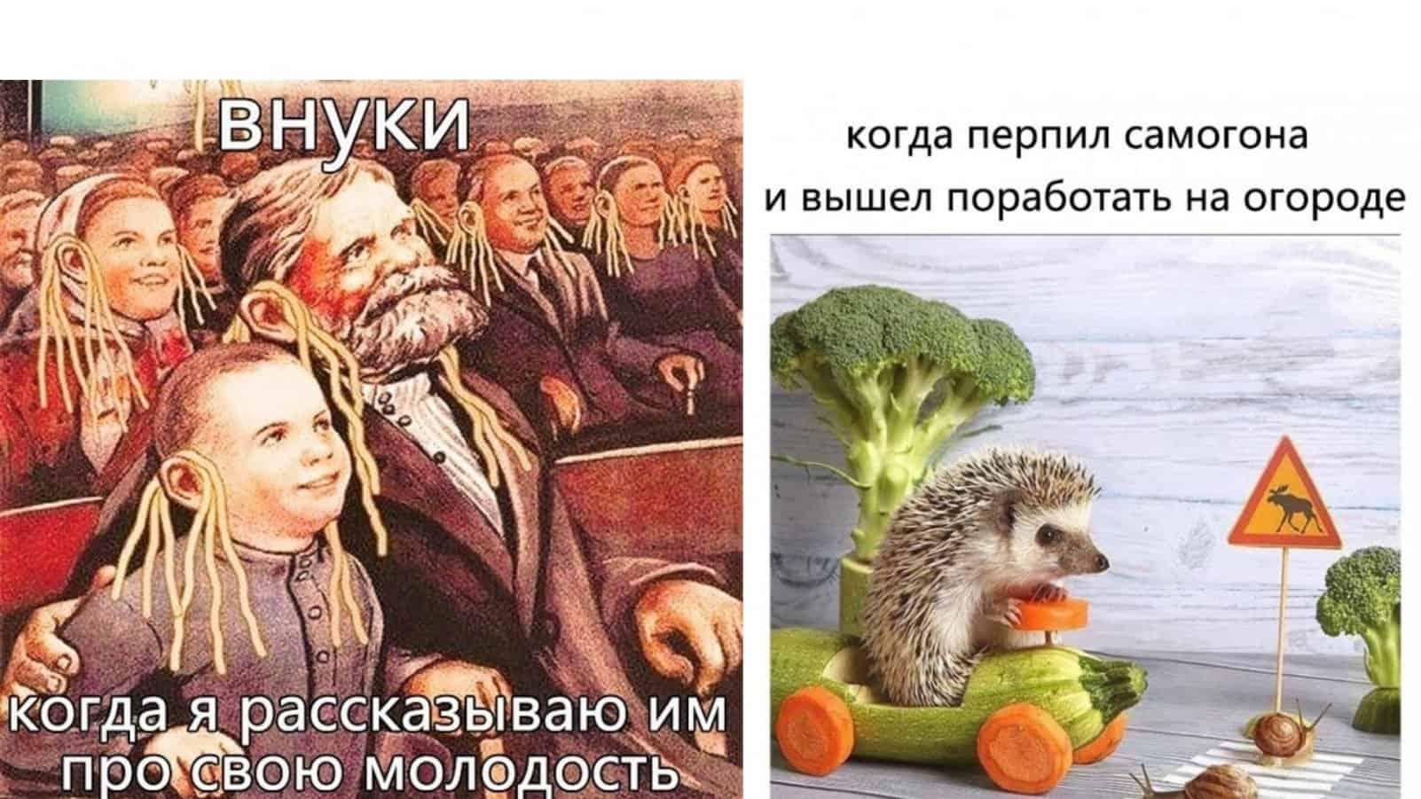 Седина в бороду, смех в лицо - коллекция пенсионерских мемов