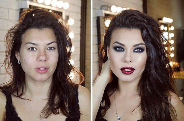 Бомбическое превращение Золушек в прекрасных принцесс благодаря умелому макияжу