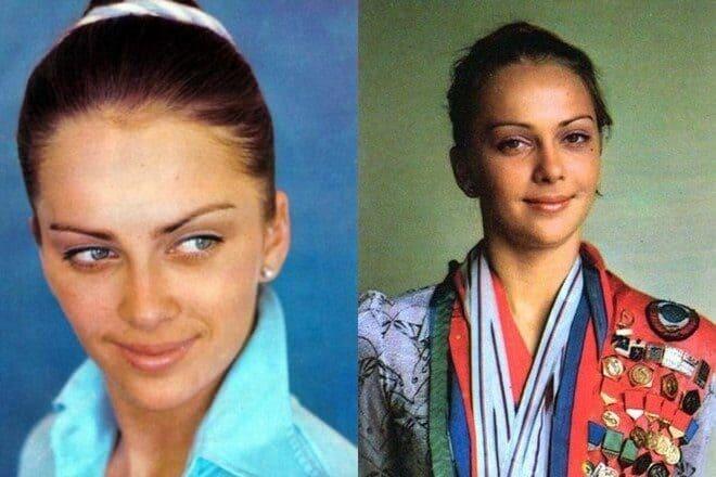 Ирина Дерюгина и еще 9 красавиц советского спорта