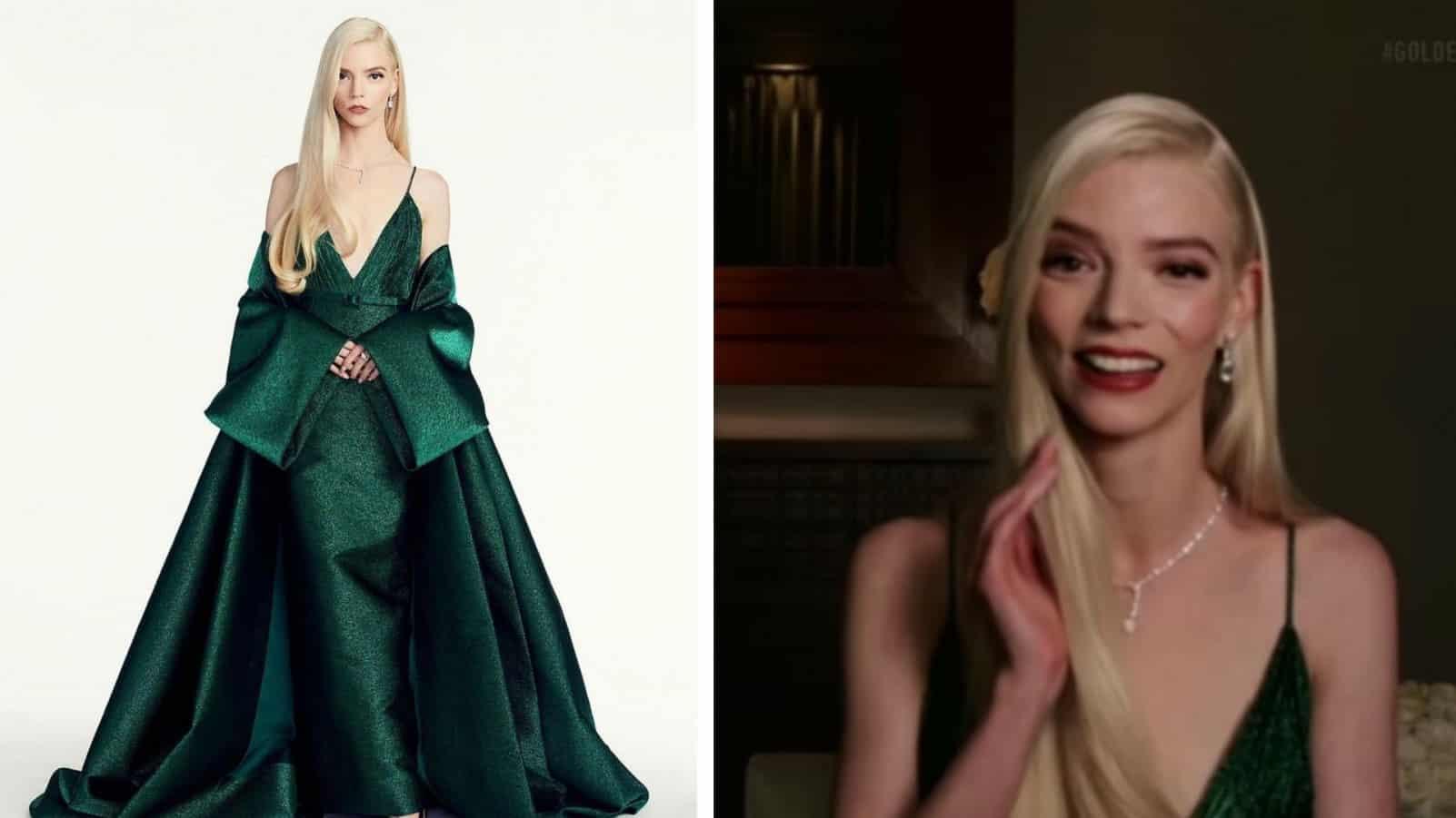 Аня Тейлор-Джой получила статуэтку за роль в сериале «Ход королевы»! Во что была одета звезда на «Золотом глобусе» в этом году?