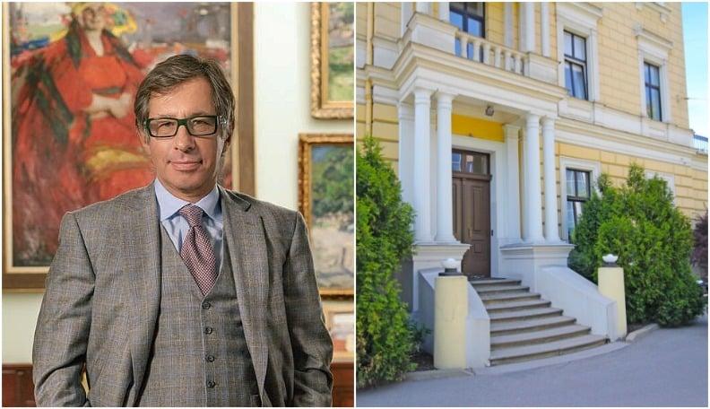 Миллиардер Авен из-за пандемии провел в Латвии 5 месяцев и купил музей