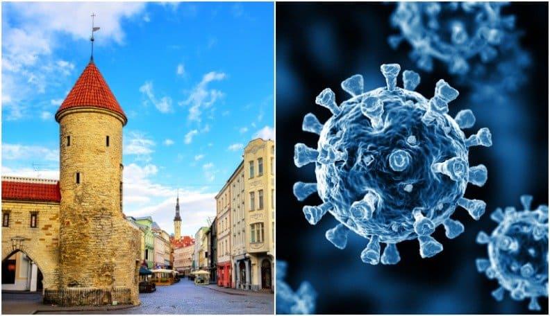 Эстония вышла на первое место в мире по заболеваемости Covid-19