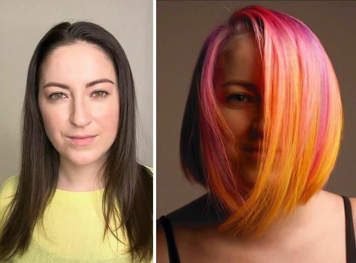 20 женщин, которые отважились покрасить свои волосы в яркие цвета и не прогадали