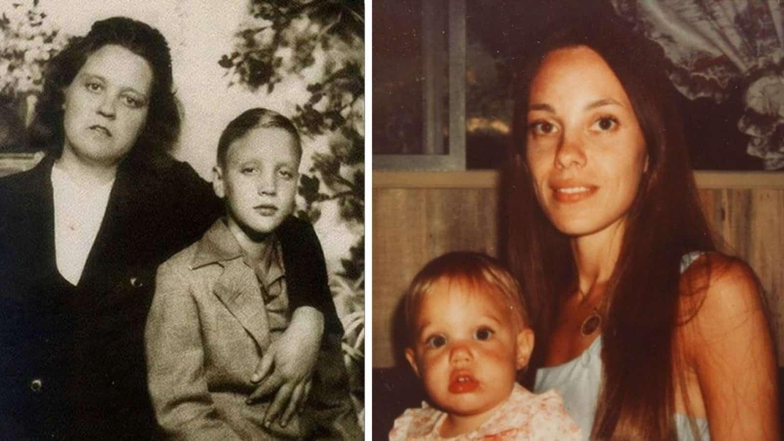 15 интригующих фотографий знаменитостей с их матерями