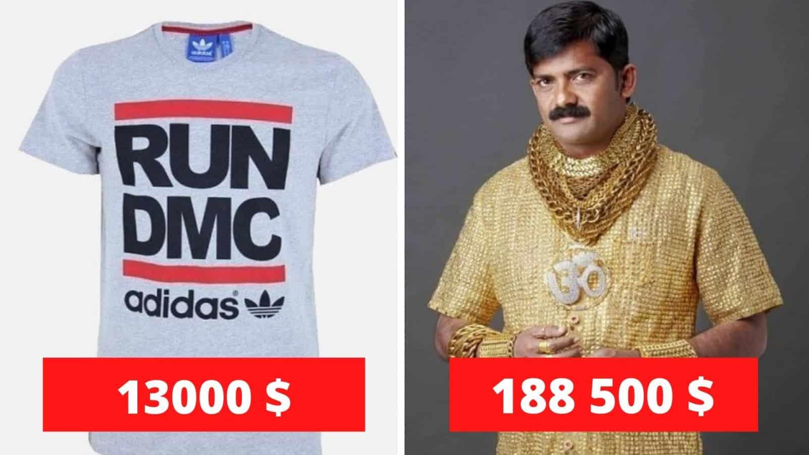 Топ 10 самых дорогих женских и мужских футболок
