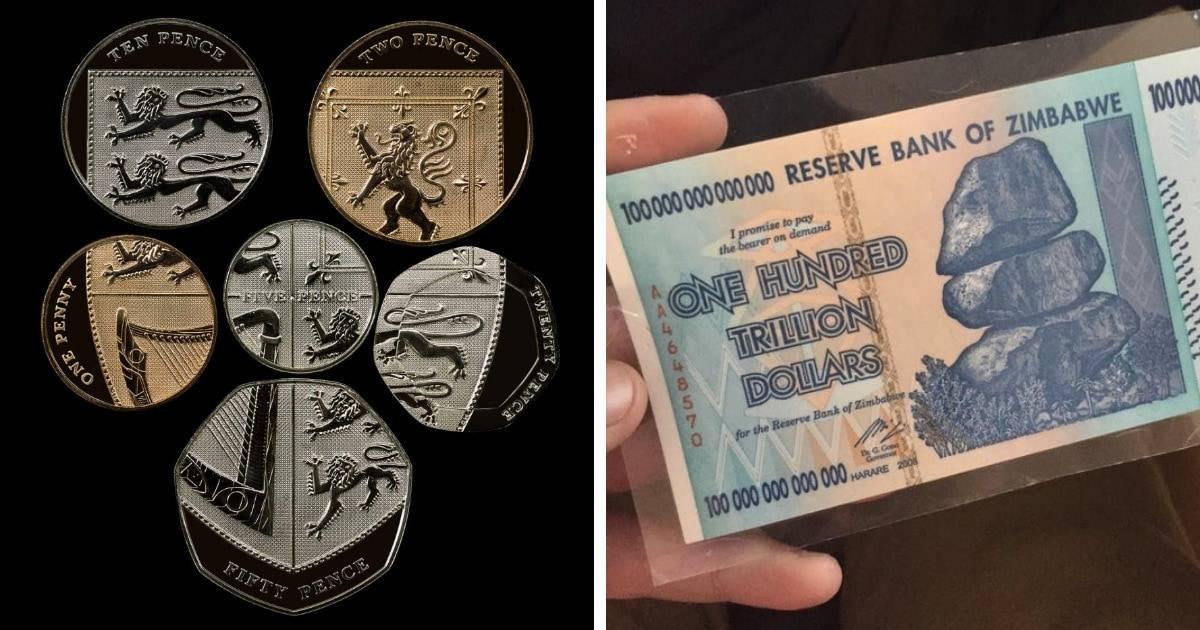 Деньги штука серьезная - удивительные купюры и монеты со всего света