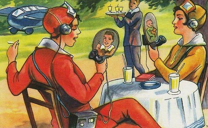 Вот как люди из прошлого представляли себе будущее