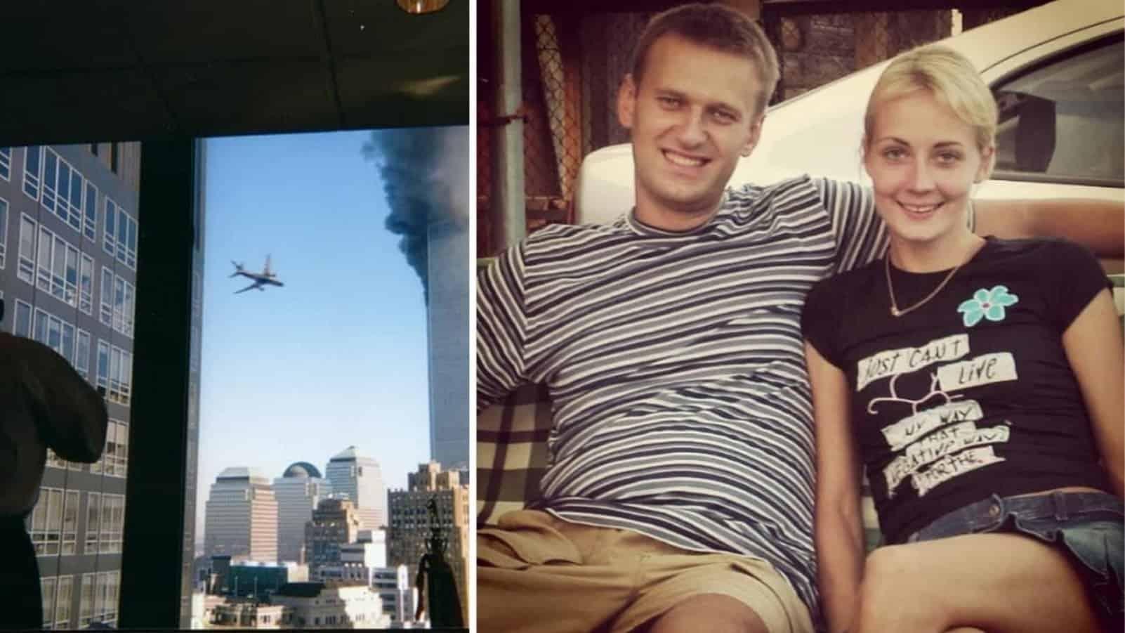 9.11 и юные Навальные в подборке изумительных архивных фотографий