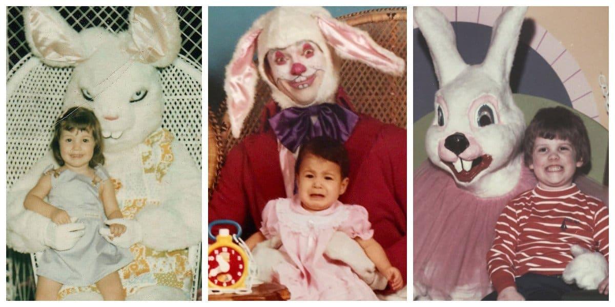 Жуткие пасхальные зайцы, которые будут еще долго приходить в ночных кошмарах