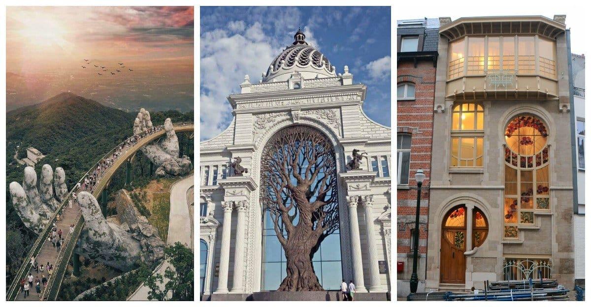 17 архитектурных шедевров, заставляющих людей ахнуть от восхищения