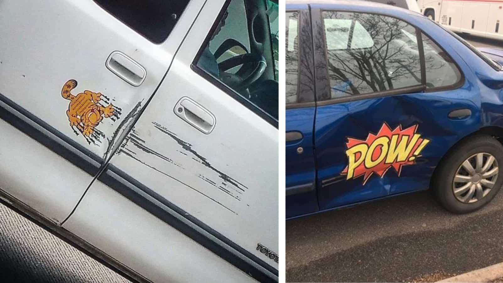 Машинка, не болей - люди нашли творческий способ, чтобы починить свою машину