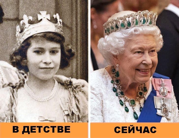 12 фото, показывающий как выглядели члены королевской семьи в детстве