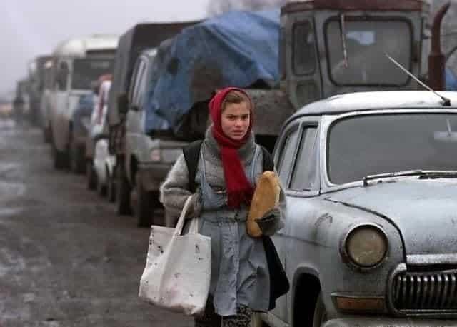 Атмосферные снимки из России 90-ых