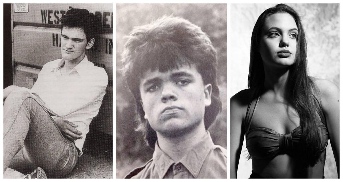 20+ редких фото знаменитостей, сделанные до того как они прославились