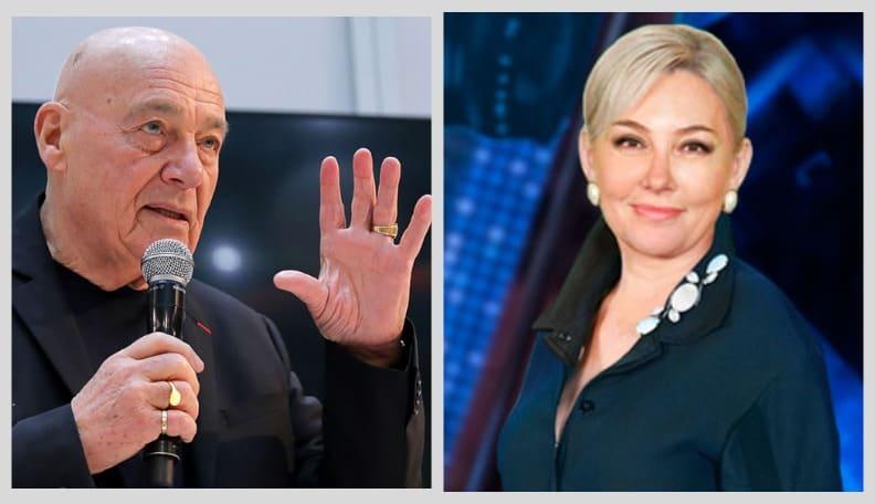 Арина Шарапова и Владимир Познер о запрете телеканалов в Латвии