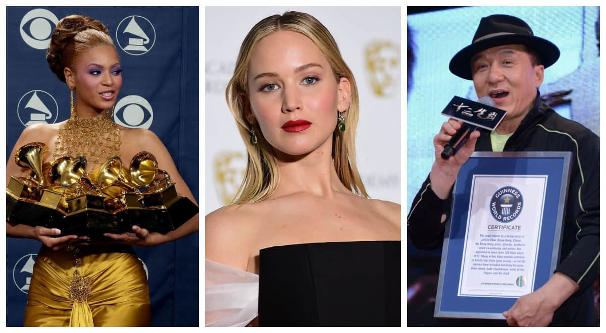 Вы даже не подозреваете, что эти 10 знаменитостей попали в Книгу рекордов Гиннесса
