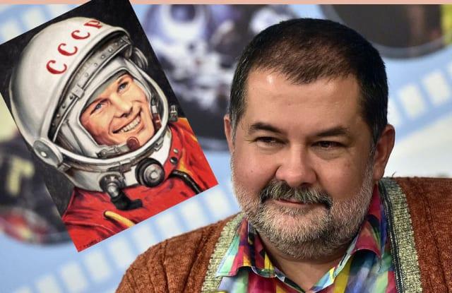 Сергей Лукьяненко:о провокациях вокруг Гагарина и космическом вирусе