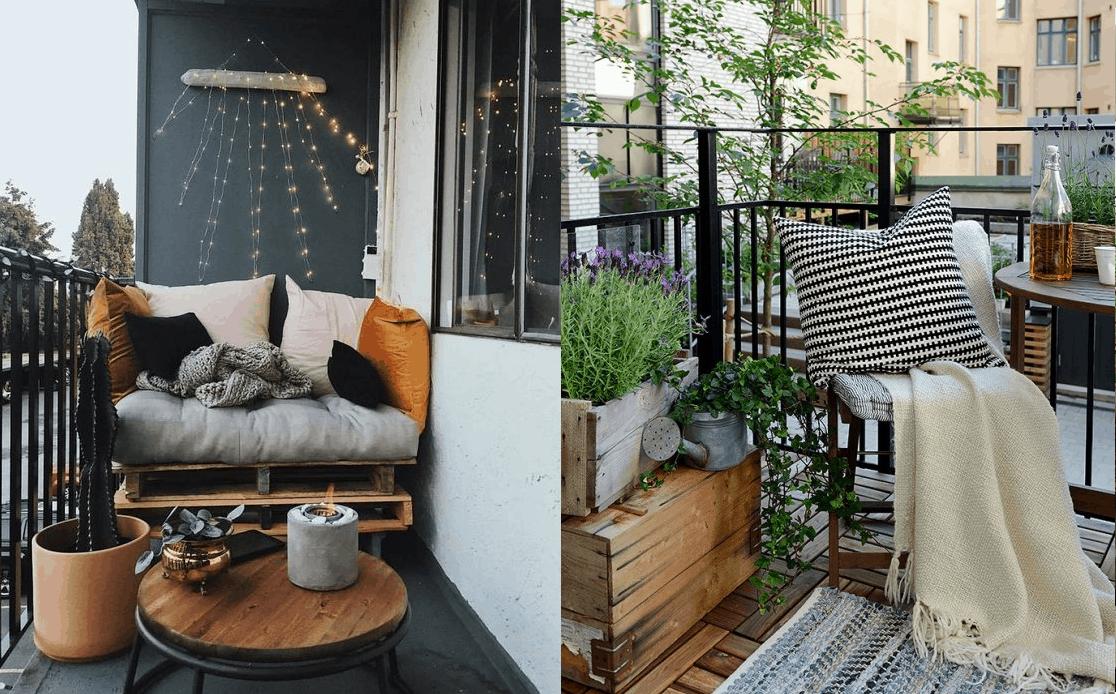 Отдыхаем, не выходя из дома: 7 отличных идей, чтобы переосмыслить роль балкона в вашей жизни