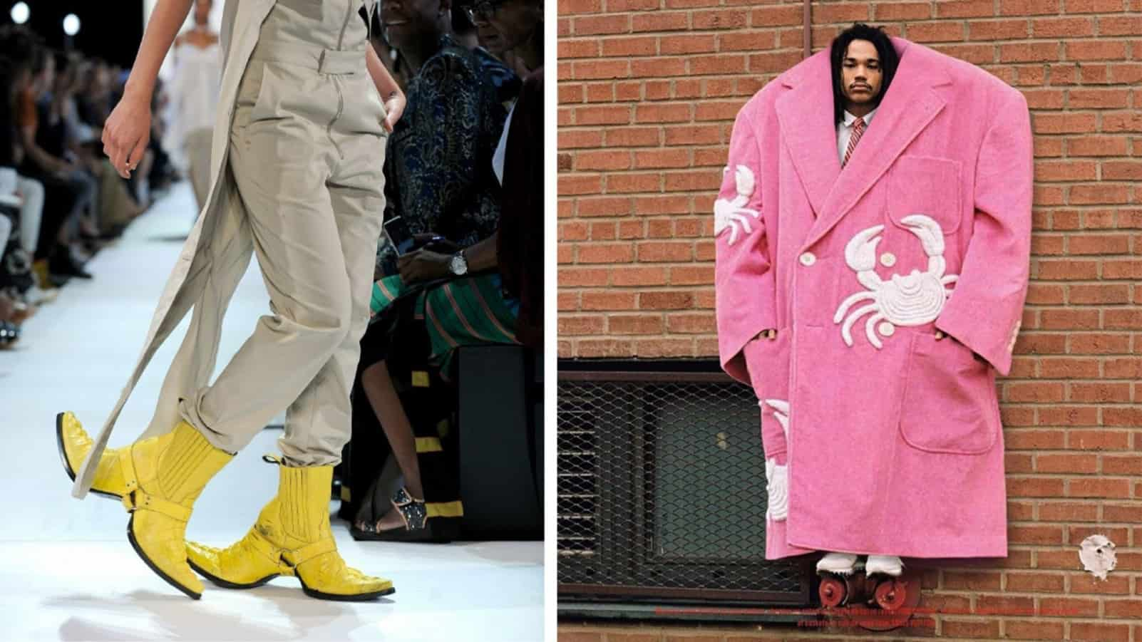16 сумасшедших нарядов из мира высокой моды, надеть которые откажется даже слепая