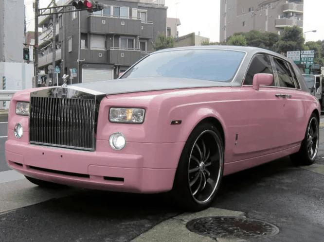 10 примеров бесполезного и беспощадного тюнинга и розовый Rolls-Royce Phantom