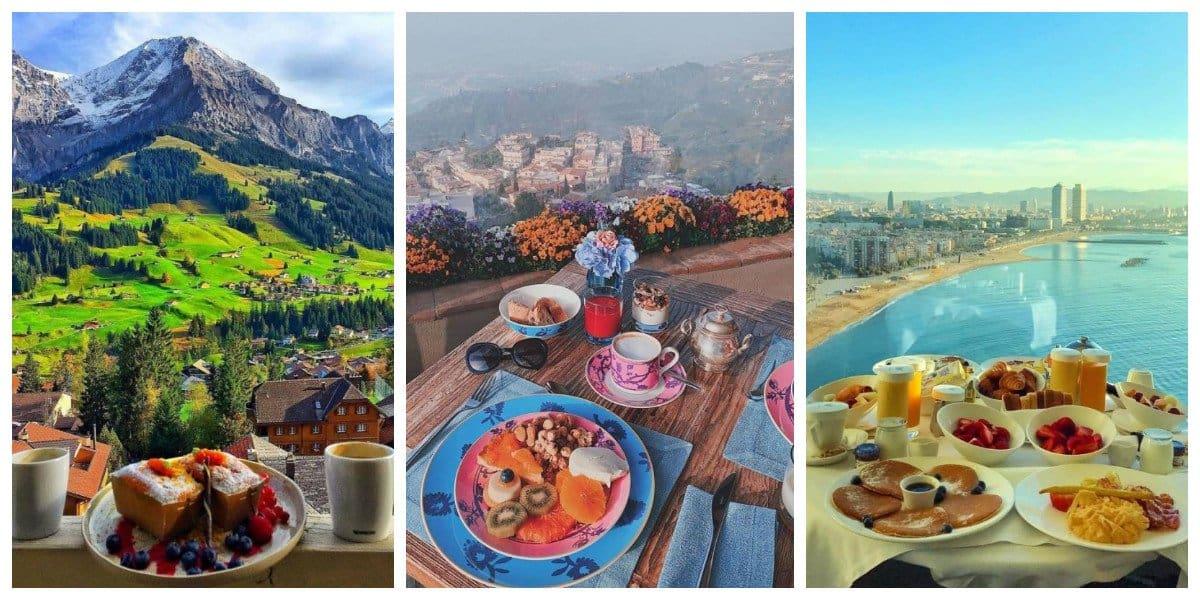 30 завтраков, к которым прилагается изумительный вид