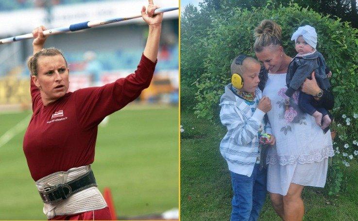 Сыну латвийской спортсменки Инги Кожаренок нужна помощь на оплату операции