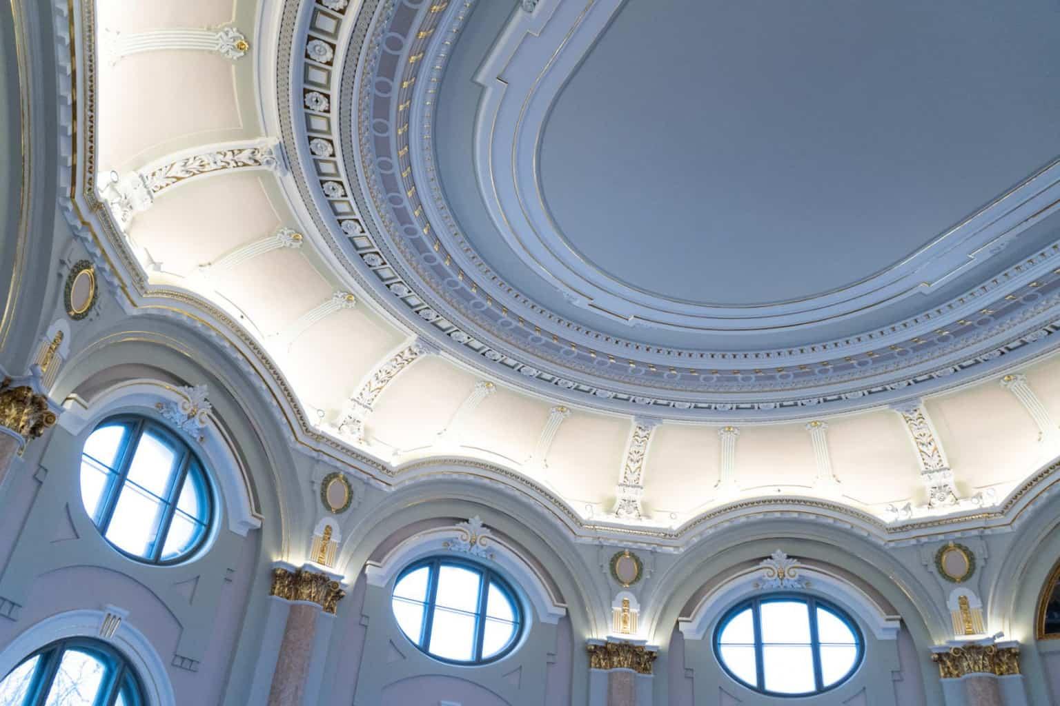 Латвийский художественный музей приглашает детей расписать потолок