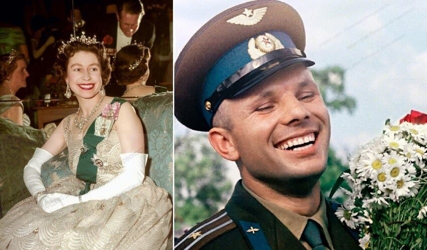 К дню космонавтики: как Юрий Гагарин покорил чопорную Англию