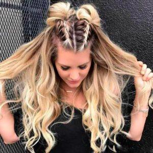 Я сама!:15 современных причесок с косами, которые можно легко сделать без посторонней помощи