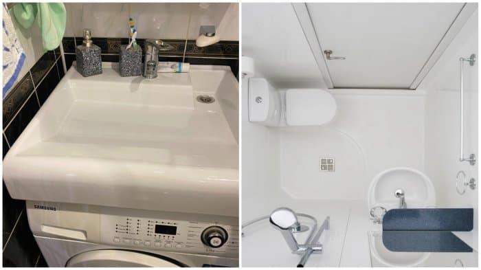 5 почти гениальных идей, как ловко сэкономить пространство в маленькой ванной