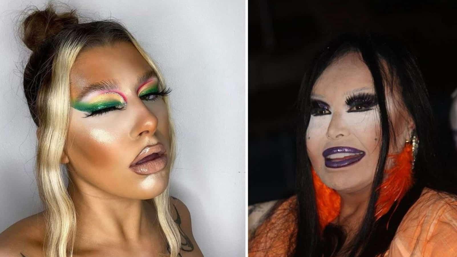 """18 визажистов, сражающихся за звание """"Худший макияж года"""""""