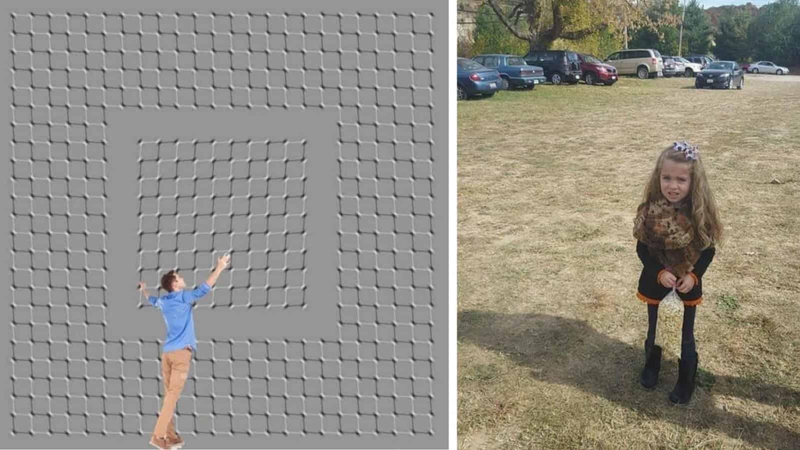 16 по настоящему крутых иллюзий, которые удивят вас своей неожиданностью