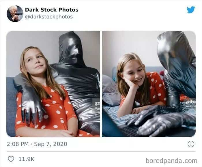 Тёмная сторона стоковой фотографии: 30 угарных снимков на любой вкус