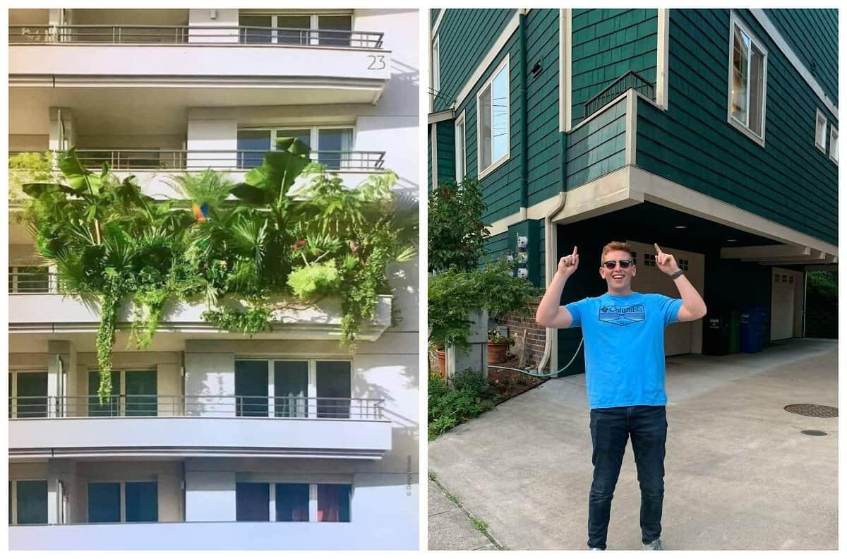 20+ самых необычных балконов, которые вы когда-либо увидите!