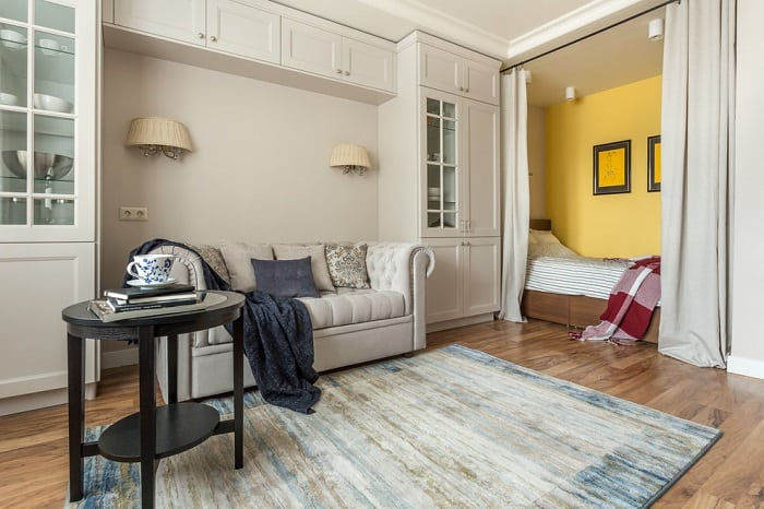 Цветовые приемы, которые помогут маленькой квартире зрительно казаться больше