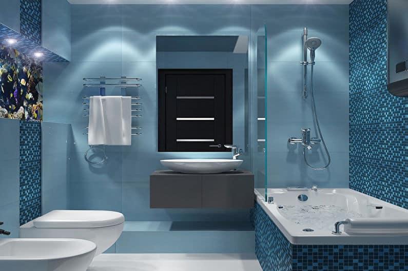 Современная ванная комната: особенности, идеи и множество примеров