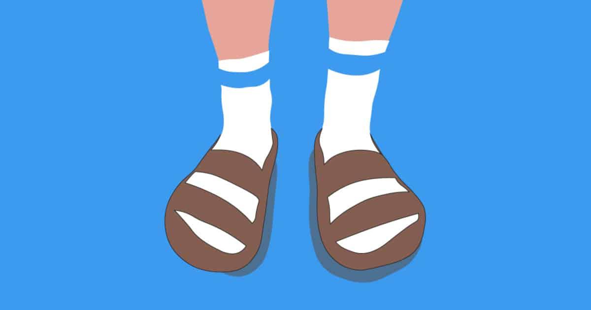 Носки с сандалиями - почему мужчины продолжают носить ЭТО?