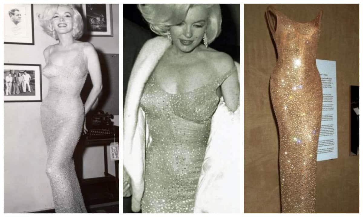 Культовое платье Мэрилин Монро и его невероятная история (14 фото)
