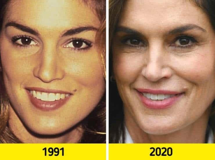 Время не обманешь: лица топ-моделей в их лучшие времена и в наши дни