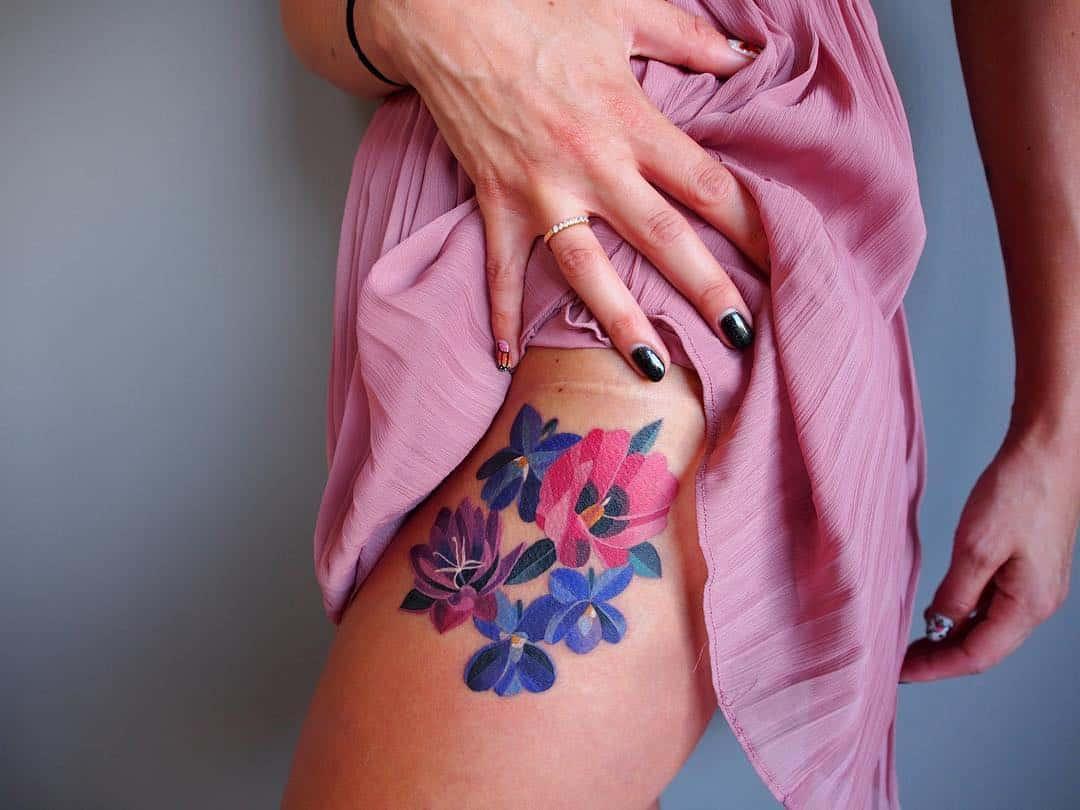 Модные татуировки: стильные примеры, на которые стоит обратить внимания в 2021 году
