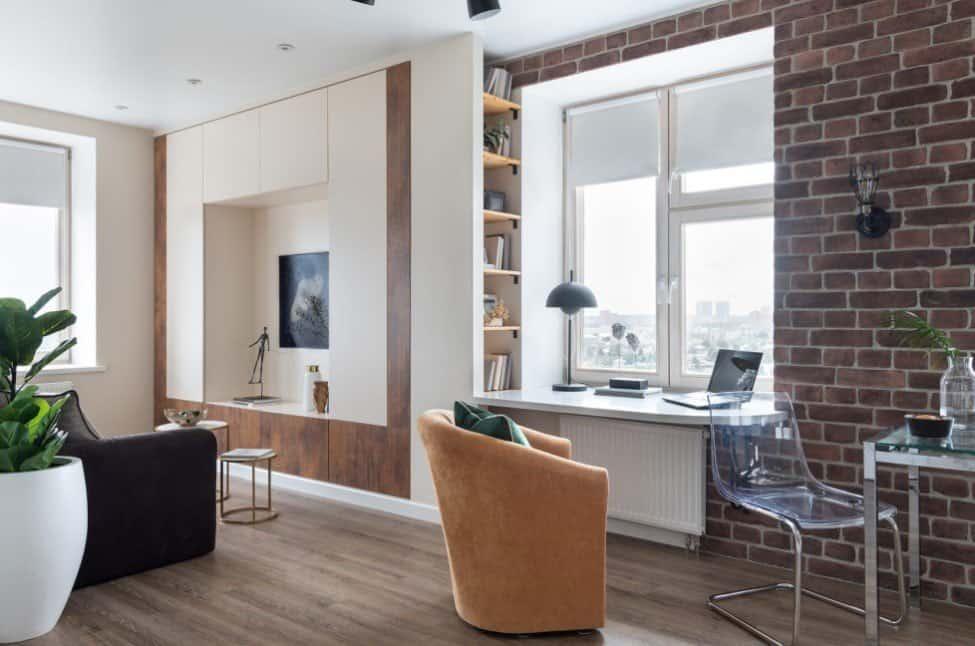 Офис в домашних условиях: особенности, стиль, расположение и множество примеров