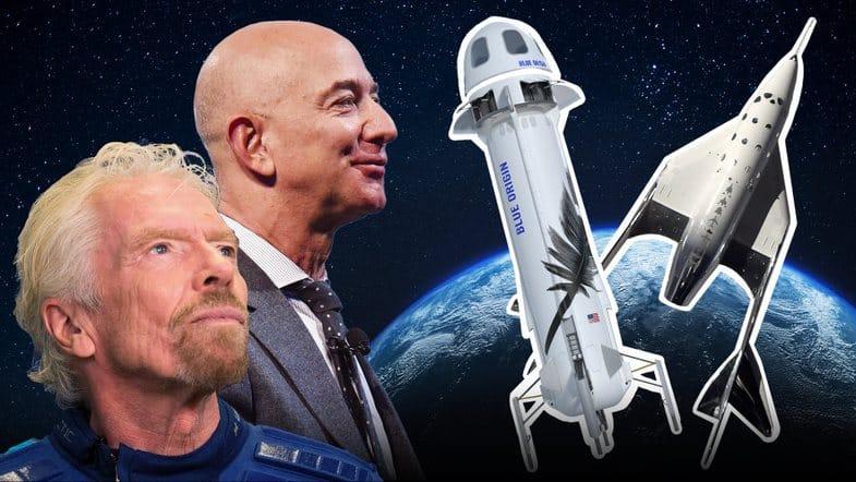 """Джефф Безос """"проиграл"""" гонку в космосе Брэнсону, но его реакция - пример эмоционального интеллекта!"""