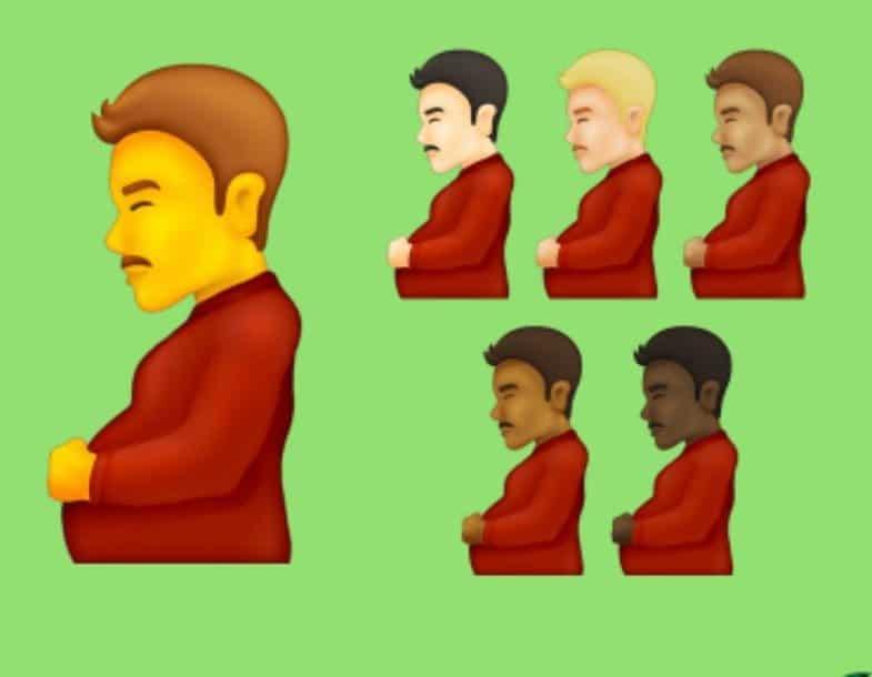 Узнайте здесь, как будут выглядеть новые смайлы: среди них «беременные мужчины», не без причины