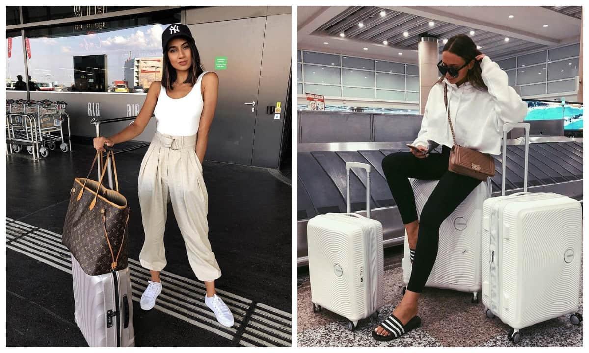 Для вашего следующего путешествия: 9+ идей одежды для аэропорта!