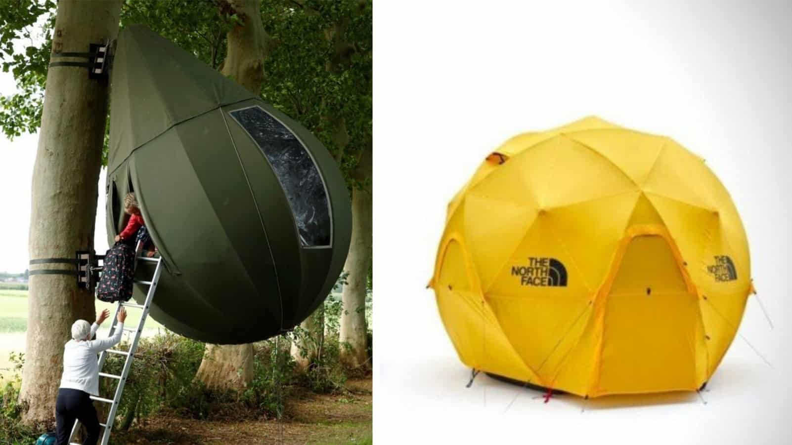 Туристам на заметку: 20 палаток, которые выглядят как корабли пришельцев