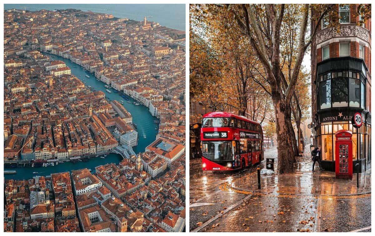 Рукотворная красота больших городов, которой нельзя не восхититься!