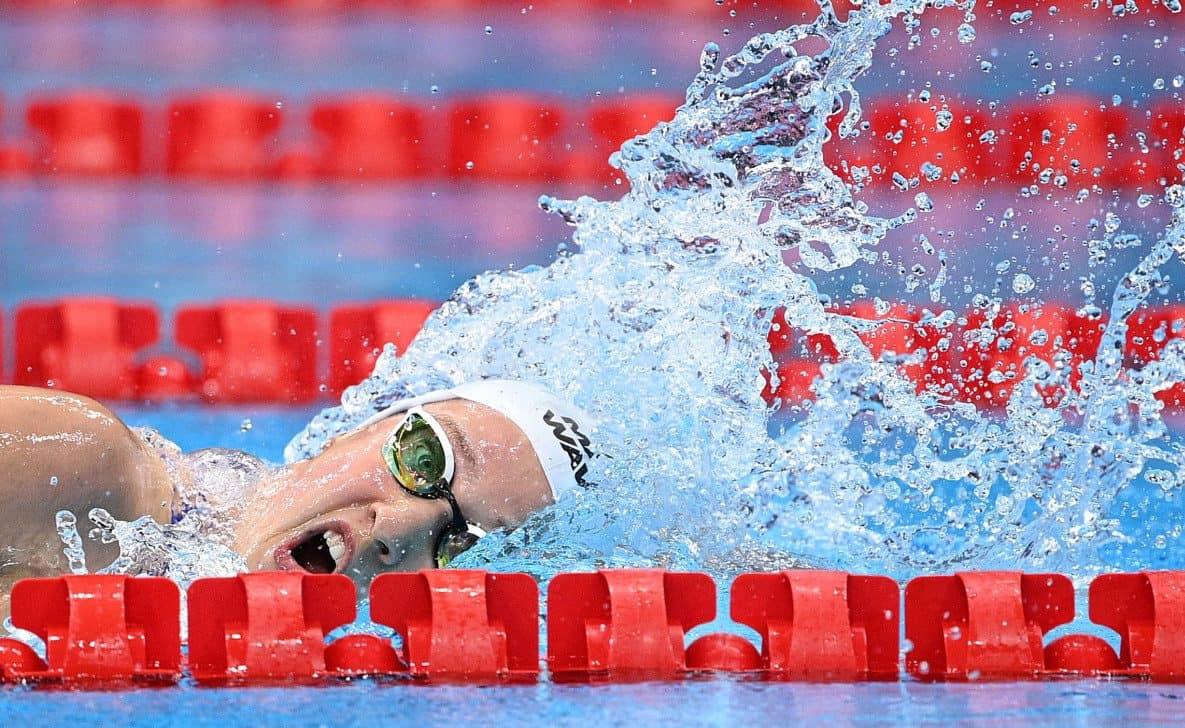 Иева Малюка заняла 37-е место на дистанции 100 метров вольным стилем