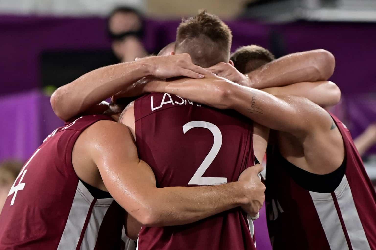 Сборная Латвии по баскетболу 3×3 завоевала олимпийское золото