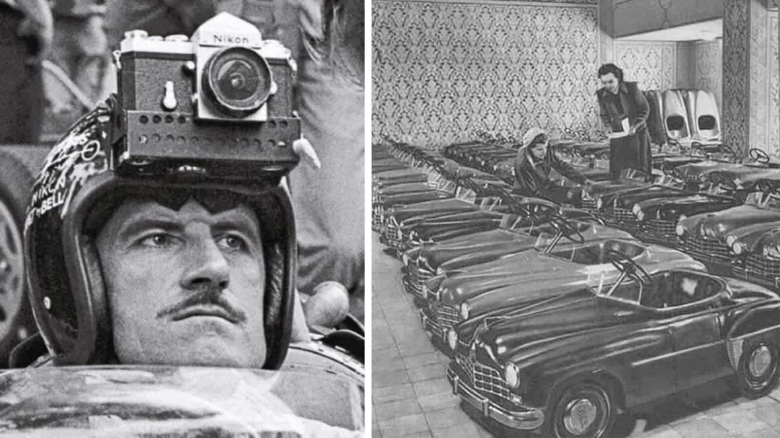 GoPro 1962 года и педальные машины в нашей коллекции исторических фотографий
